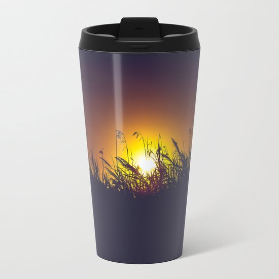 I Hope You're Not Lonely Without Me Metal Travel Mug