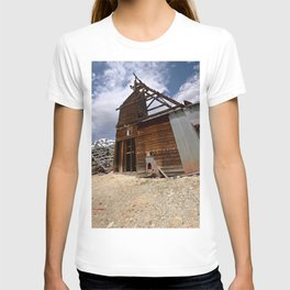 At the Longfellow Mine, elevation 11,080 feet, No. 4 of 13 T-shirt
