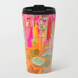 Indian Marketplace Travel Mug