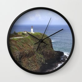 Kilauea Lighthouse Wall Clock