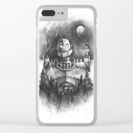 The Giant's Dream Clear iPhone Case