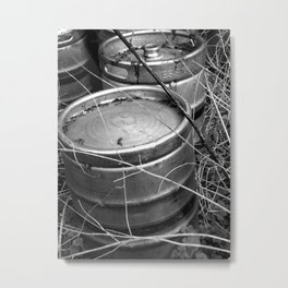Keg Graveyard Metal Print