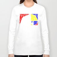 fibonacci Long Sleeve T-shirts featuring Plasticized Fibonacci Pure by AMO Design