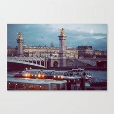 Paris lights. Canvas Print