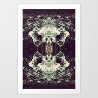 n7 Art Prints featuring N7 by LEGAN ROOSTER85