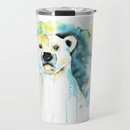 Polar Bear - Like a Boss Travel Mug