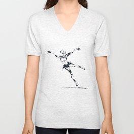 Splaaash Series - Ice Bird Ink Unisex V-Neck