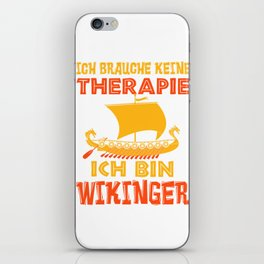 Viking Therapy Nordmann Valhalla Gift iPhone Skin
