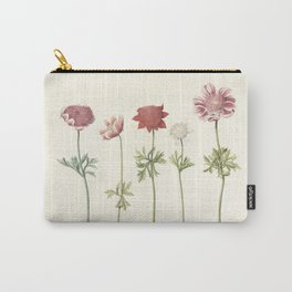 Five studies of anemones, anonymous, c. 1760 - c. 1770 Carry-All Pouch