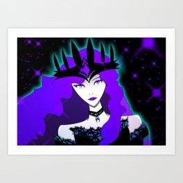 Night Goddess Art Print