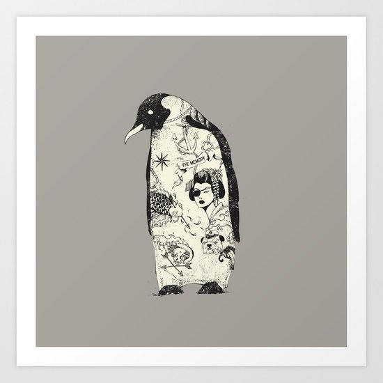 THE PENGUIN Art Print