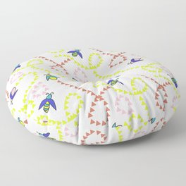 Whimsy Bugs Floor Pillow