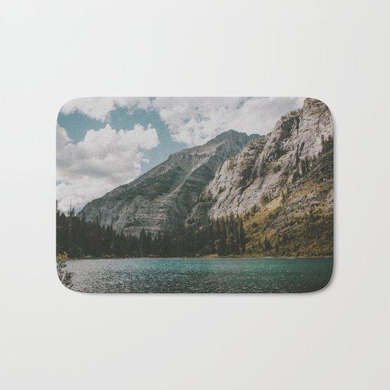 Rocky Mountains Bath Mat