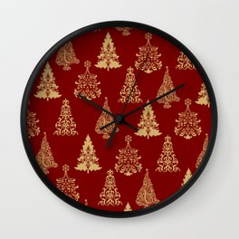 Oh Christmas Tree! Wall Clock