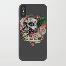 I'll Be Back iPhone X Slim Case