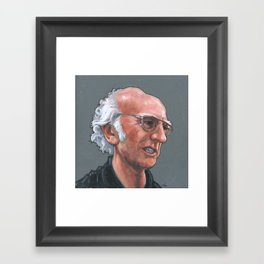 Larry David Framed Art Print
