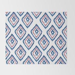 Rugged Royal Throw Blanket