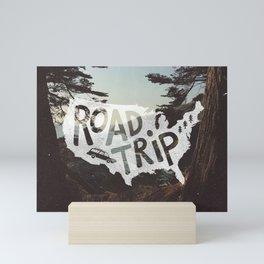 Road Trip USA - big sur Mini Art Print
