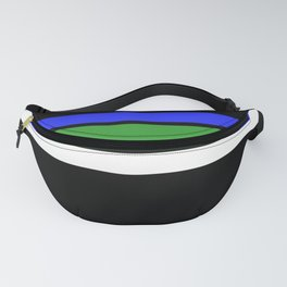 Team Colors 2 ...green,blue Fanny Pack