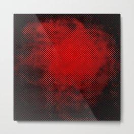 rouge et noir 6 Metal Print