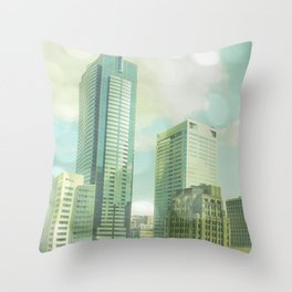 SEATTLE TRAVEL PHOTOGRAPHY Throw Pillow