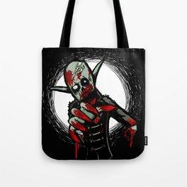Debate Over: Zombies vs. Vampires Tote Bag
