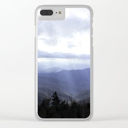 Clingmans Dome Clear iPhone Case