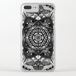Mandala 2 Clear iPhone Case