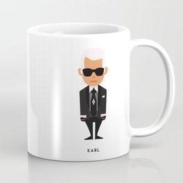 FASHION ICONS - KARL Coffee Mug