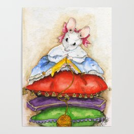 Little Miss Mouse Poster