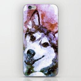 Tika'ani our Siberian Husky iPhone Skin