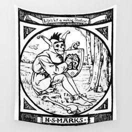 Life's but a Walking Shadow Wall Tapestry