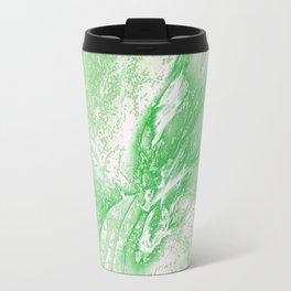 Splatter in Limeade  Travel Mug