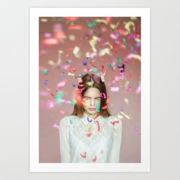 unexpected happiness Art Print
