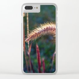 Calling Me Back in Time Clear iPhone Case