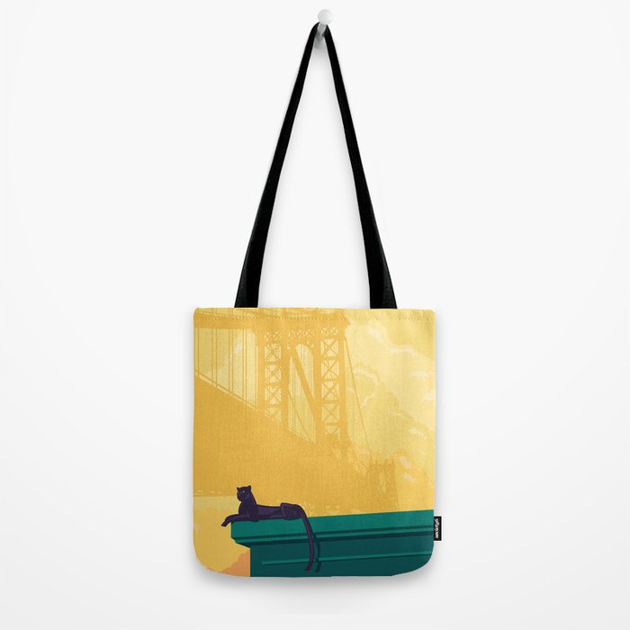 Urban jaguar Tote Bag