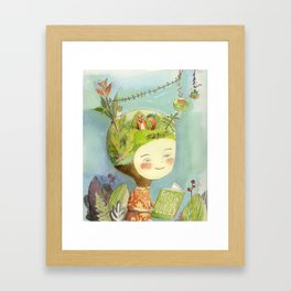 Little Terra Framed Art Print