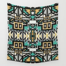 Ethnic african geometric pattern Wall Tapestry