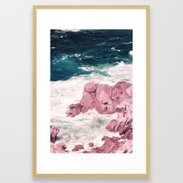 Kiss of the Sea I Framed Art Print