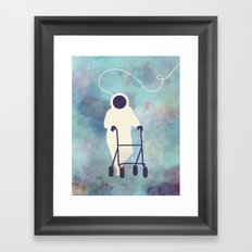A DREAM COME TRUE Framed Art Print