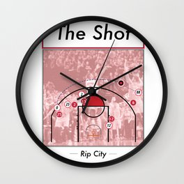 The Shot Series - Damian Lillard Wall Clock