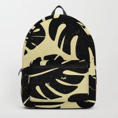 Monstera Leaf Print 2 Backpack