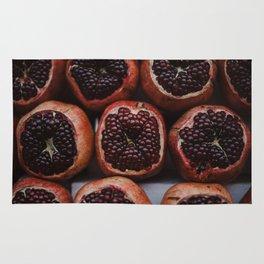 Pomegranates in Israeli Market Rug