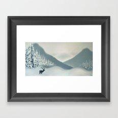 Colorado Snow Framed Art Print