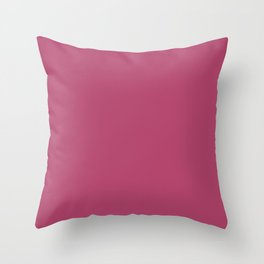 Irresistible - solid color Throw Pillow