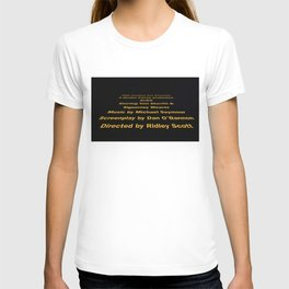 Alien cast & crew T-shirt