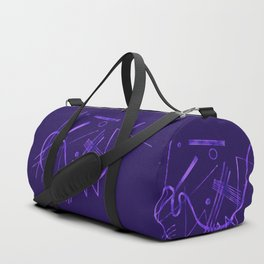 Kandinsky - Purple Abstract Art Duffle Bag
