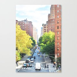 262. High line View, New York Canvas Print
