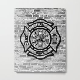 Fire Dept Metal Print