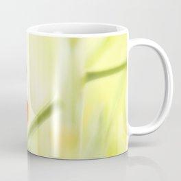 Spring Garden Ladybug On Broccoli Coffee Mug